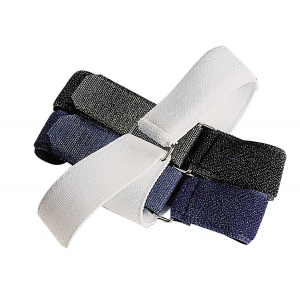 Elastic velcro fastening for bandages