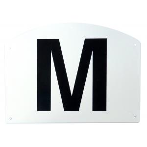 12er Buchstaben-Set, Bahnpunkte auf Kunststoffrahmen
