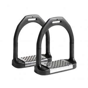 "FEELING ""Flexi Large"" stirrups, stainless steel"