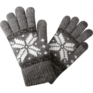 Gants Screentouch Unisize Flocon - Adulte