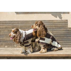 "EQUITHÈME ""Stripe"" polar fleece hondendeken"