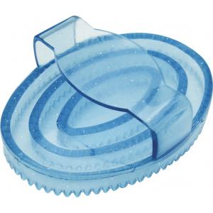 Gummistriegel oval mit...