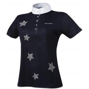 EQUITHÈME Etoiles shirt, short sleeves