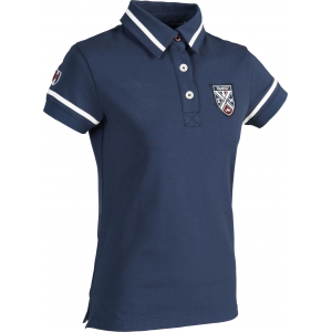 "EQUITHÈME ""Equit'M"" Jersey polo shirt, short sleeves"
