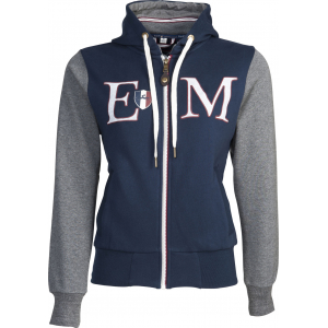 """Equit'M"" Zip Sweat Shirt aus Baumwolle"