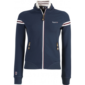 """Equit'M"" Zip Baumwoll Sweatshirt Jacke"