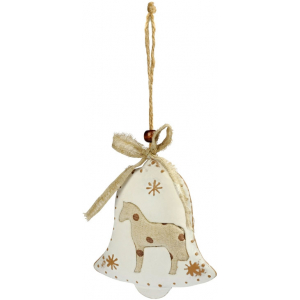 "Bell Ornament ""Horse"""