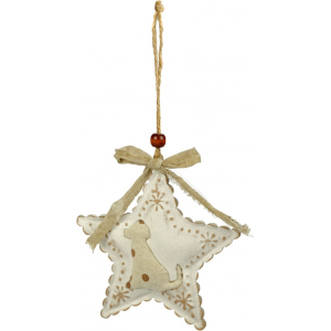 "Star Ornament ""Dog"""