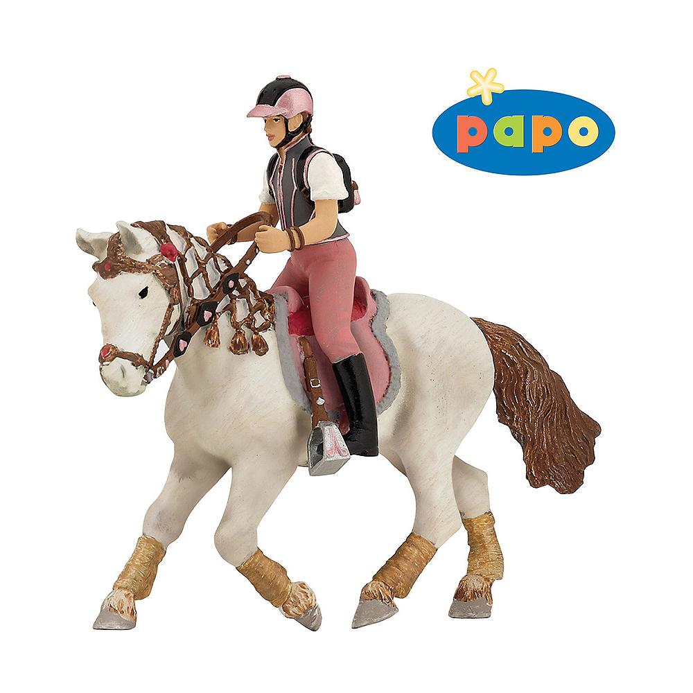 Jeune cavalière fashion Papo