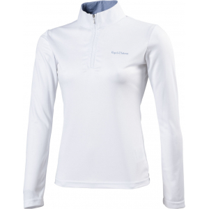 "EQUITHÈME ""Mesh"" polo shirt, long sleeves"