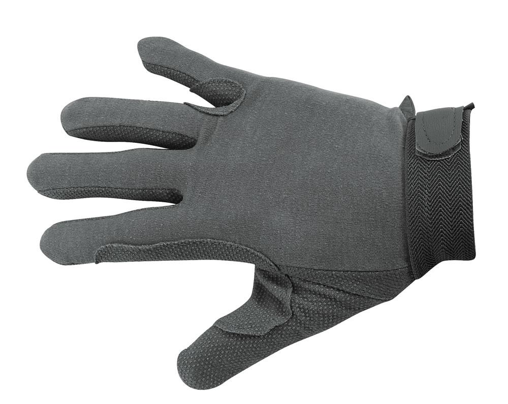 e30a7f0f089c9 Gants dessus coton fin, intérieur de la main caoutchouté - GANTS 4 SAISONS  - Padd