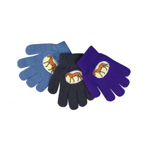 Unisize Gloves with horse design - Children
