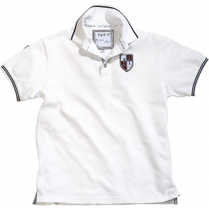 EQUIT'M Piqué cotton polo shirt