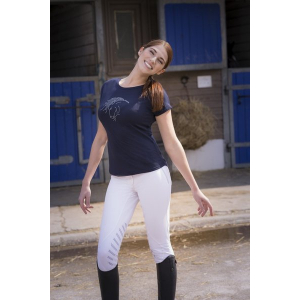 Tee-shirt EQUITHEME Tête Art - Femme