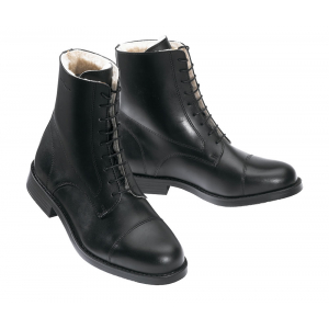 Norton Fur-lined boots with lacing