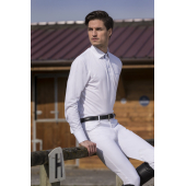 Polo EQUITHEME Mesh - Manches Longues - Homme
