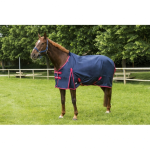 "EQUITHEME ""TYREX 600 D"" Turnout rug, polar fleece lined"