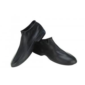 Sur-bottes en caoutchouc noir