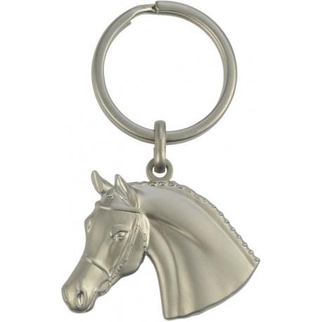 3D Keyring Horse Head with Bridle - key rings - Padd Horsetack e6e86710ee6b