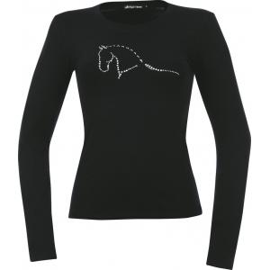 Tee-shirt EQUITHÈME Dressage Strass - Femme