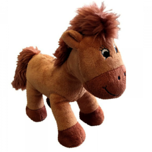 Stuffed pony