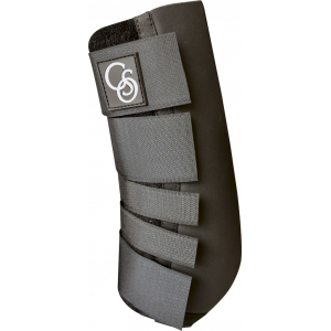 C.S.O. Protection open front tendon boots