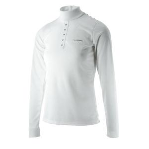 EQUITHÈME Shine Technic wedstrijd polo shirt, lange mouwen