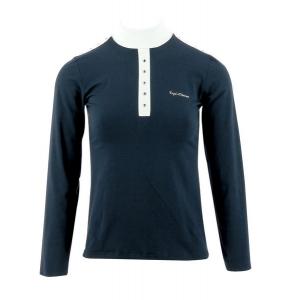 EQUITHÈME Shine wedstrijd polo shirt, lange mouwen