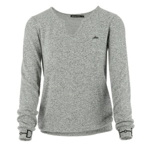 Pull fin EQUITHÈME Mors, manches longues - Femme