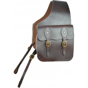 Luxe saddle bags