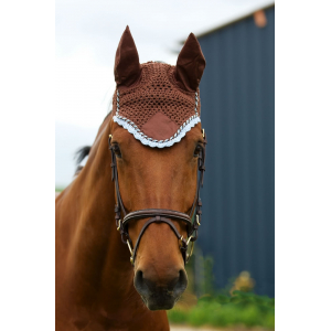 EQUI-THÈME Fly-mask to embroider