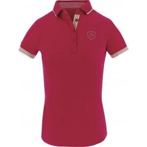 EQUITHEME Jersey polo shirt, korte mouwen - Dames