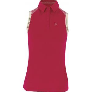 EQUITHEME Piqué polo shirt, mouwloos - Dames
