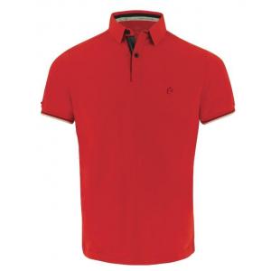 EQUITHÈME Jersey Polo Shirt, kurze Ärmel - Herren