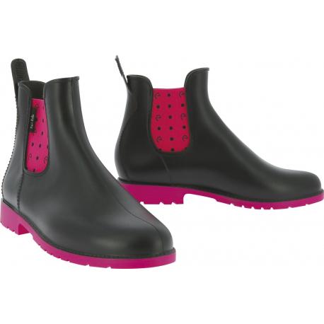 Boots Equi Kids Pois synthétiques Enfant