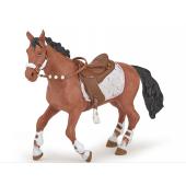 Cheval cavaliere fashion hiver Papo