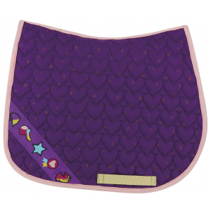 Equi-Kids Ponylove Saddle Pad