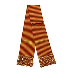 Opgerolde deken met zakken voor Vaquera zadel