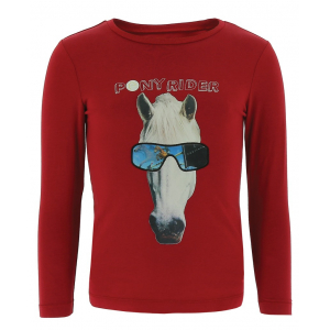 T-shirt Equi-Kids PonyRider with hologram - Child
