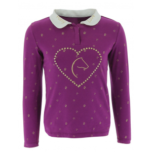 Equi-Kids Pony Love Polo with Rhinestone - Child