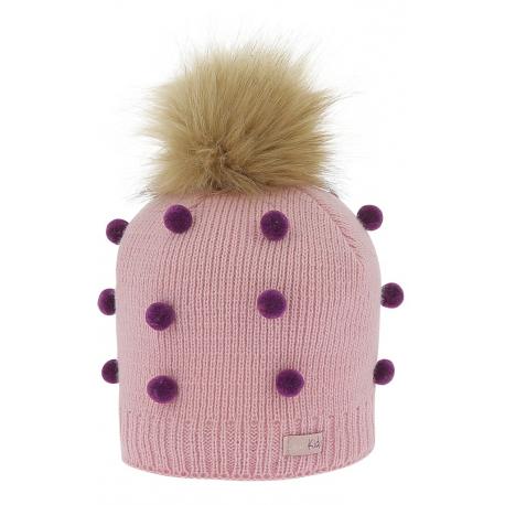 cc9cc5cec0fa Bonnet à pompon Equi-Kids Pompons - Enfant - Casquettes, chapeaux et ...
