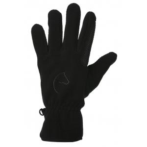 EQUITHÈME Picot fleece gloves