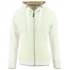 EQUITHÈME Zipped Sweatshirt with Hood - Ladies