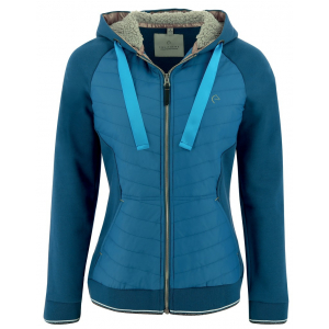 EQUITHÈME Zipped Sweatshirt with Hood - Ladies