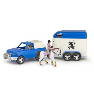 Coffret Papo 4x4, van et figurines