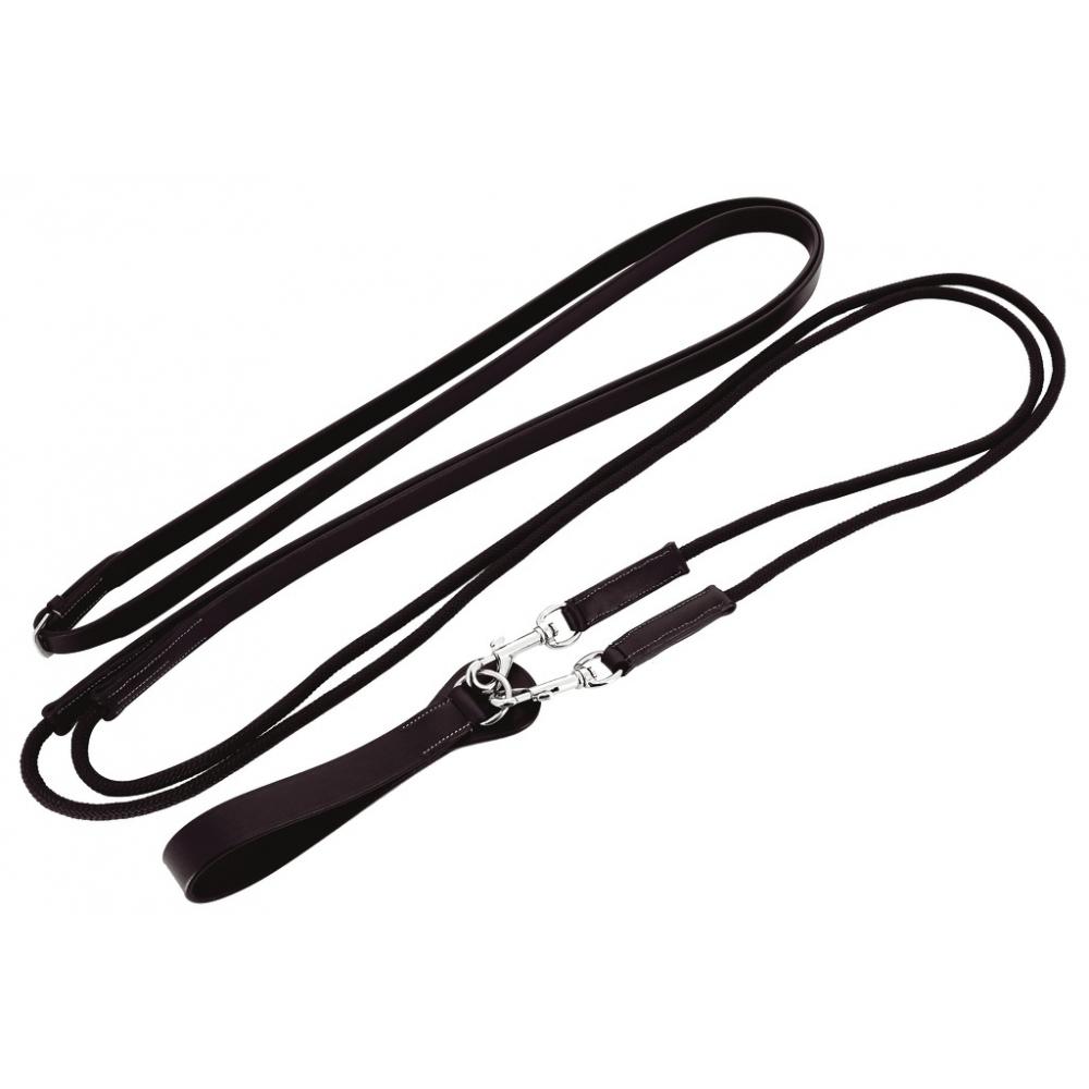 Rênes allemandes Norton Pro cuir/corde
