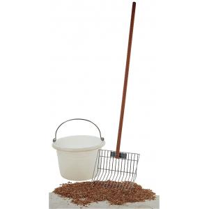 Vork voor houtkrullen