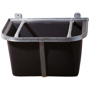 Mangeoire professionnelle plastique, cadre métal galvanisé