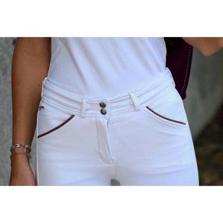 Pénélope Leprevost breeches with saddler stitching - Women