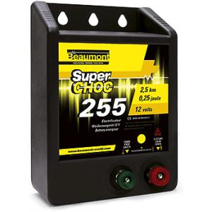 "12 V ""Superchoc"" 255 battery energiser"